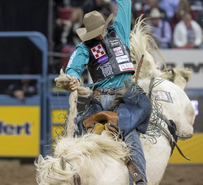 a R2 NFR18 Isaac Diaz Mommys Boy Bridwell ProRodeo Ropesmart Andersen R2C_6573