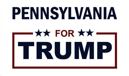 TRUMP LEADS IN PENNSYLVANIA AND MARYLAND