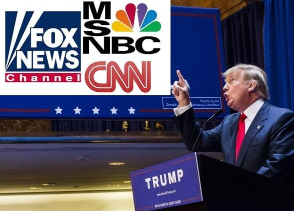TRUMP IS HUGE FOR CABLE TV BUSINESS