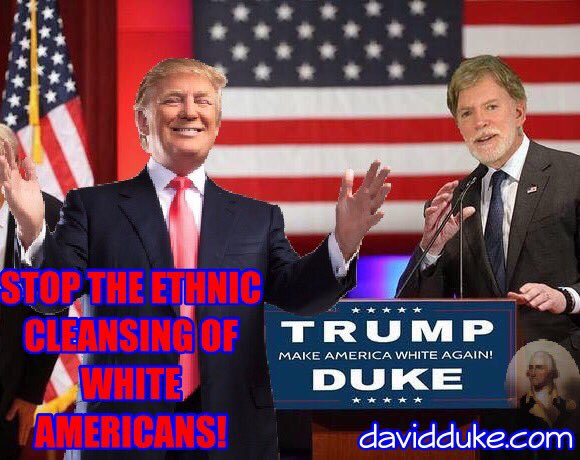 David Duke Says Trump & Whites Under Attack