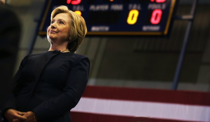 At Halftime, Clinton Overwhelmingly Favored To Win