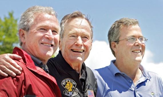 Bush's Trash Trump As Convention Begins