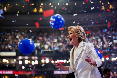 Transcript of Hillary Clinton's Acceptance Speech