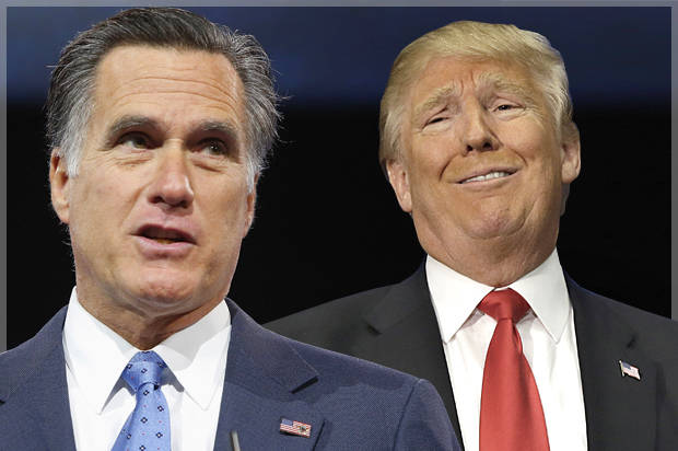 Bored At The United Nations, Trump MOCKS Romney On Twitter