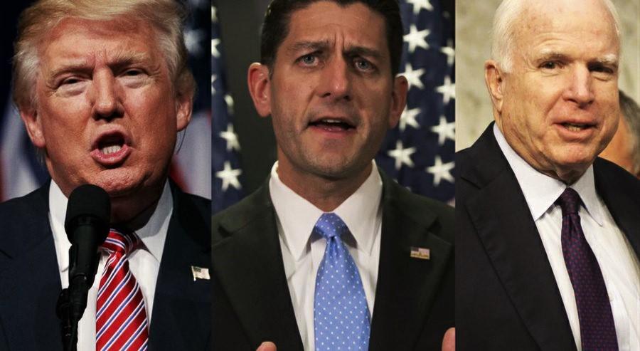 Trump Reverses & Endorses Ryan, McCain
