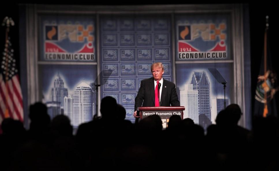 Trump Sticks To Script Discussing Economy