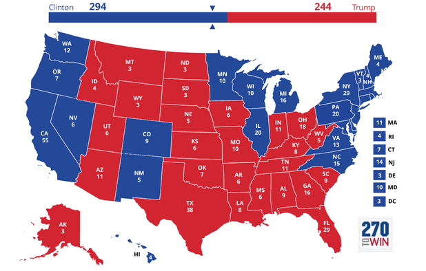 50 Days To Go: Clinton's Lead Collapses