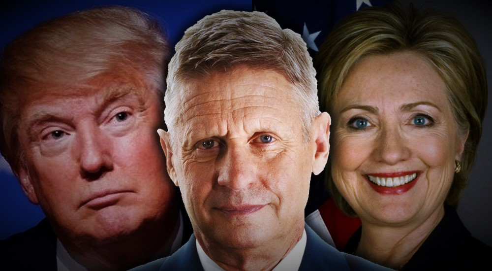 Battleground Paper Dumps Trump, Backs Johnson