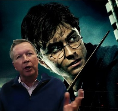 Kasich Rips Harry Potter Actor