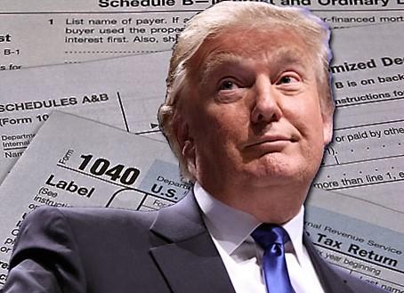Appeals Court Tells Trump:  RELEASE YOUR TAX RETURNS