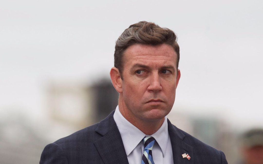 Embattled Congressman Duncan Hunter Asks Court To Exclude Evidence Of Five Affairs