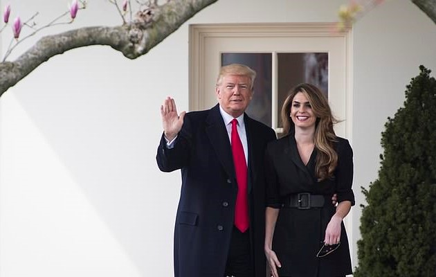 """""""It's A FARCE!"""" – Trump Aide Hope Hicks Claims """"Blanket Immunity"""" Before Congressional Committee"""