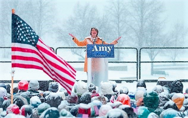 ELECTION 2020: Sen. Amy Klobuchar Announces For President In A Snowstorm