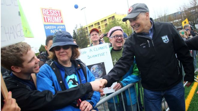 ELECTION 2020: Democrat Gov. Jay Inslee Starts White House Bid With Climate Change As His Key Issue