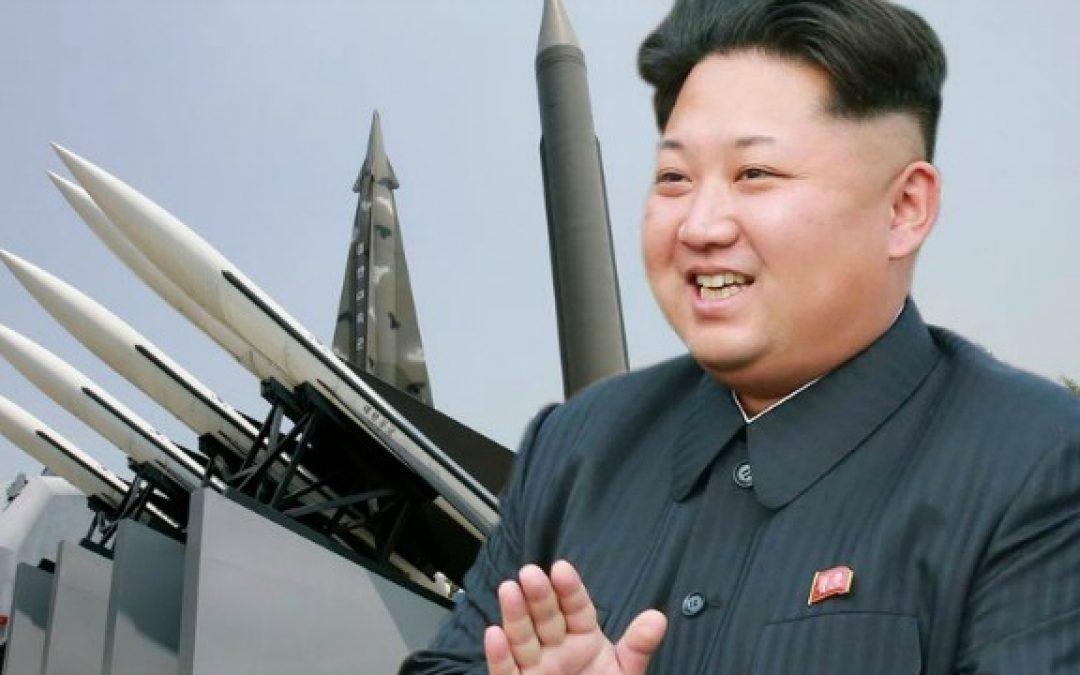 "Kim Jong Un Shoots Off Several ""Projectiles"" At Japan – Trump Says ""I Am With Him"""