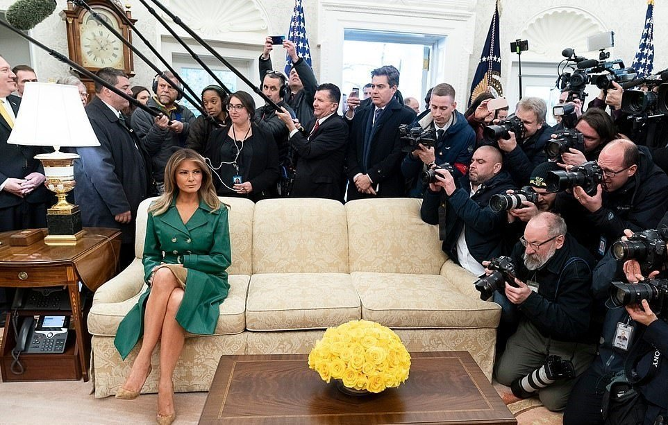 """White House Tweets """"Happy Birthday FLOTUS"""" Message – Social Media Responds To Lonely Picture"""