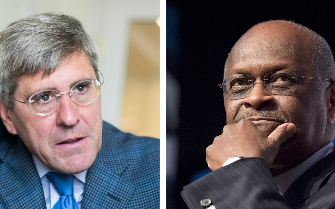 Cain Out For Fed Position – Spotlight Shifts To Moore & His Writings About Women