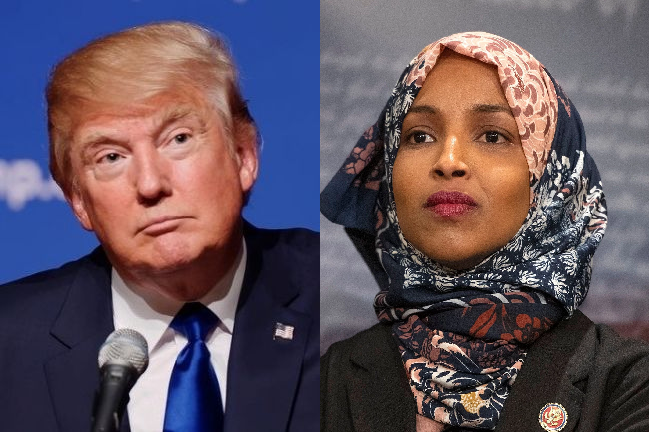 """Trump Tells Congresswoman Omar & Fellow Freshmen Members To """"Go Back To Where They Came From"""""""