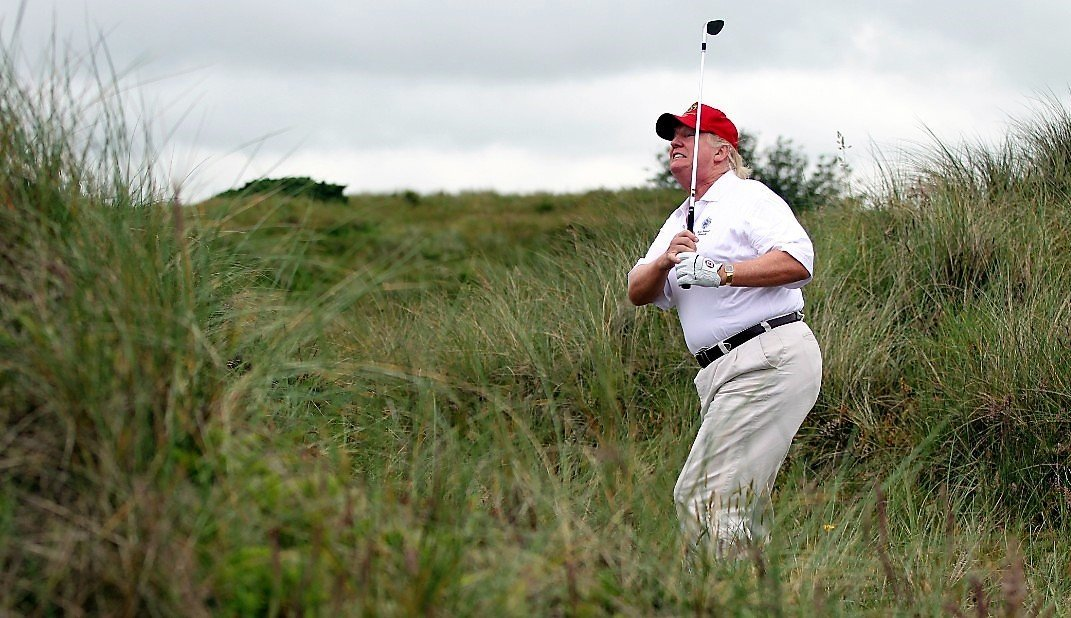 "It Was ""Fake News"" After All – Trump's Unbelievably Low Golf Score Was A ""Mistake"""