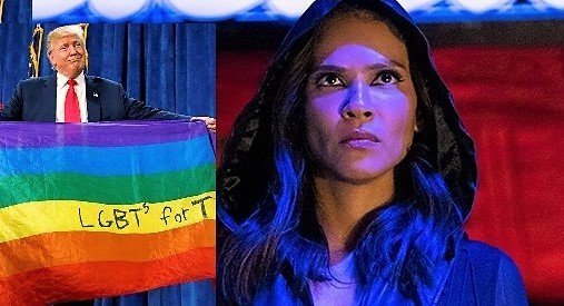 "Lucifer's Lesley-Ann Brandt Calls Trump's Gay Rights Support ""Rainbow Bullshit"""