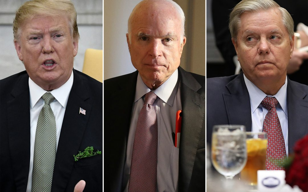 """Meghan McCain Says She's Disappointed By Lindsey Graham – """"My Father Was Trump's Biggest Enemy"""""""