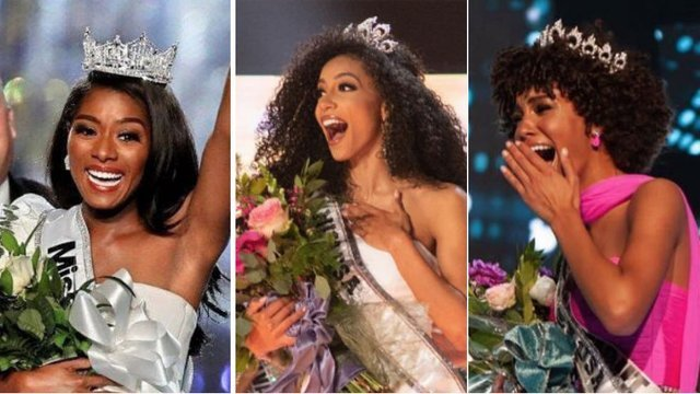 HISTORY: Miss America, Miss USA & Miss Teen USA Winners Are All Black Women For First Time