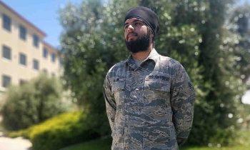 Air Force Allows Sikh Airman To Wear Turban & Beard While Serving