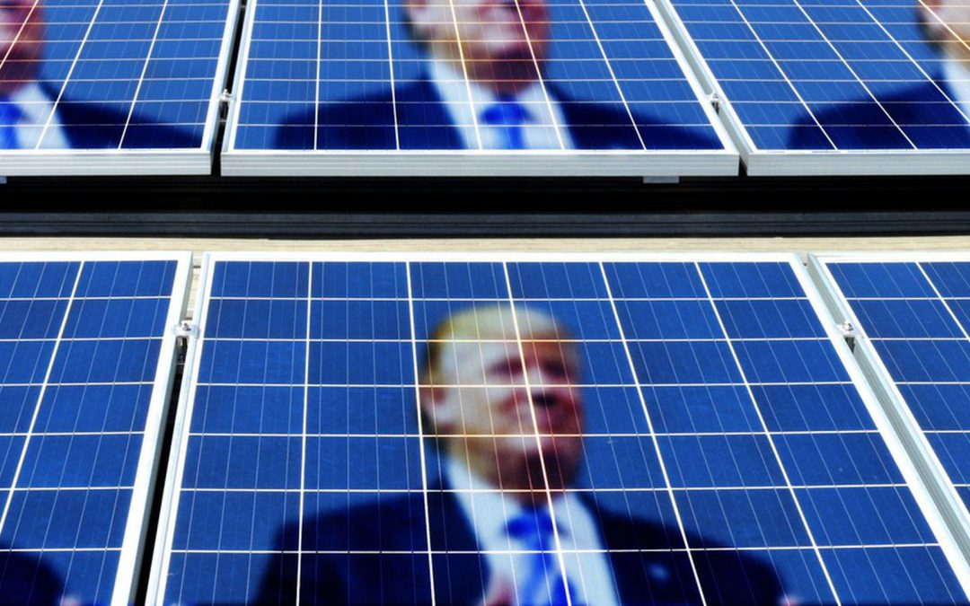 Another Victory For Big Oil – Trump Slaps Tariffs on Solar Panels in Major Blow to Renewable Energy