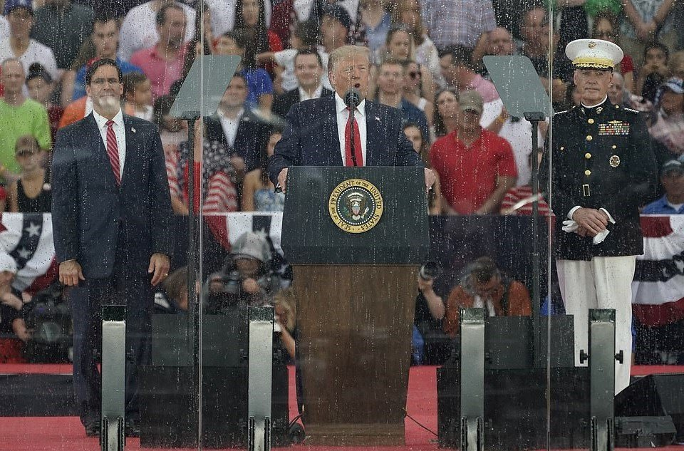 Trump Blames Teleprompter For 4th Of July Flub – Once Ridiculed Obama For Using The Word Machine
