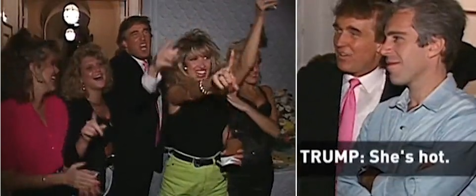 Trump Said He Wasn't Friends With Epstein – NEW VIDEO Shows Him Partying With Him