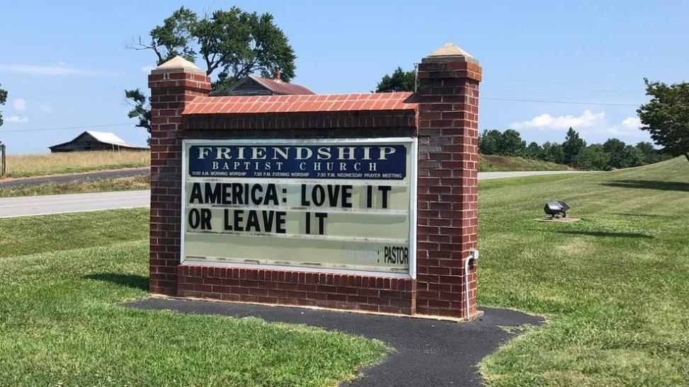 Virginia Pastor Echos Trump's Message – Sunday Congregation Walks Out