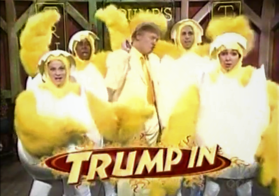 WATCH: The Hard To Find SNL Skit – Donald Trump Celebrates National Chicken Wings Day