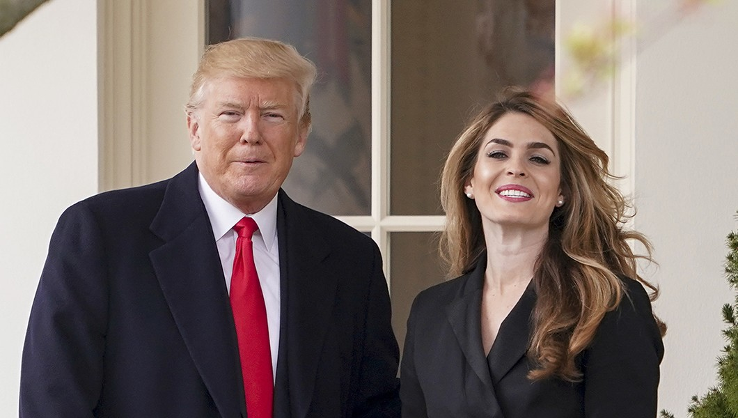 Trump & RNC Have Paid $600K In Legal Fees For Hope Hicks