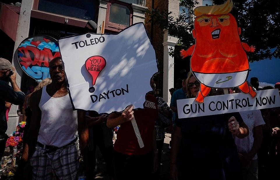 Trump Rage Tweets Attacks On Ohio Politicians, Biden & Fox News Minutes After Visiting Shooting Victims
