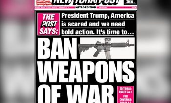"Conservative New York Post Urges Trump To Ban ""Weapons Of War"""