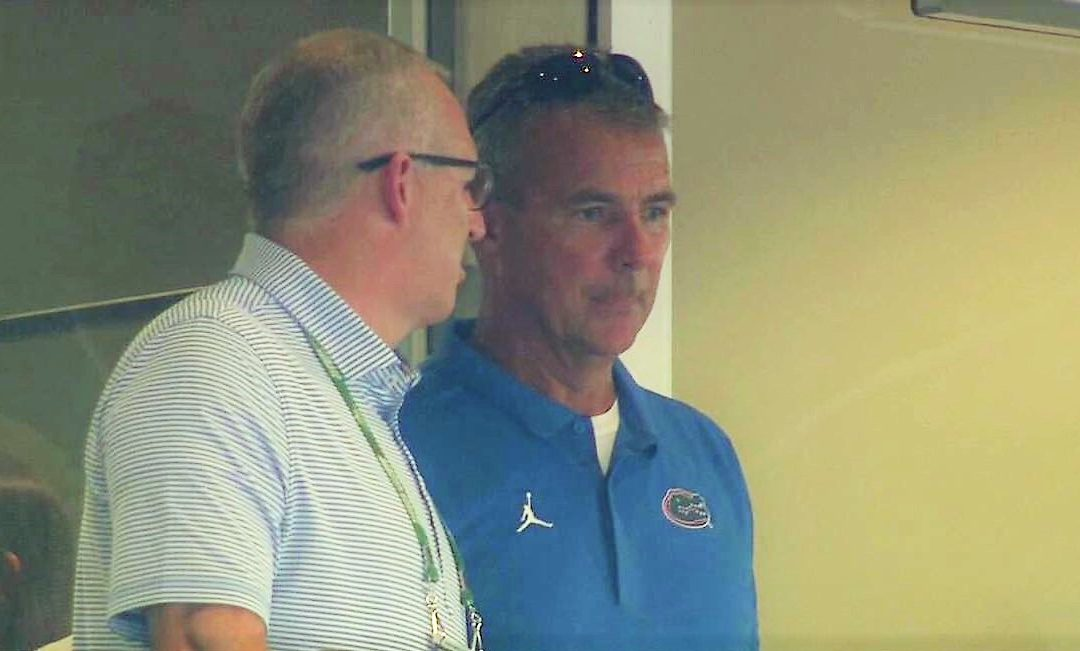 Urban Meyer Wears Florida Shirt Saturday Night – Still On Ohio State's Payroll