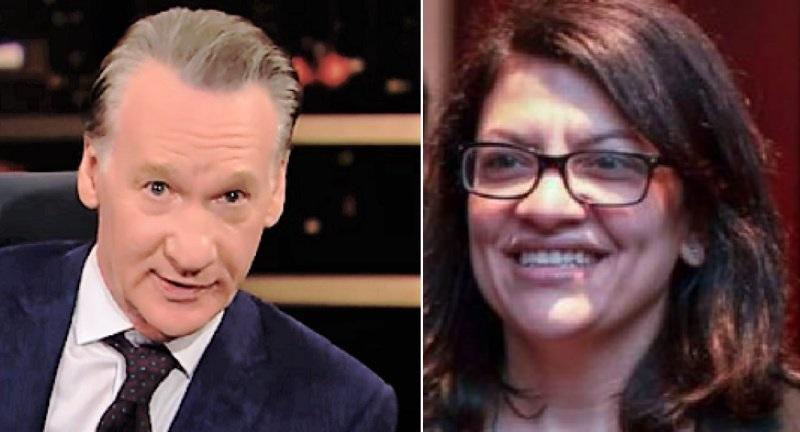 Far-Left Rep. Rashida Tlaib Calls For Boycott Of Bill Maher's Liberal HBO Show