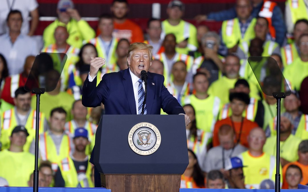 Trump Claims Credit For Pennsylvania Shell Plant Announced Under Obama