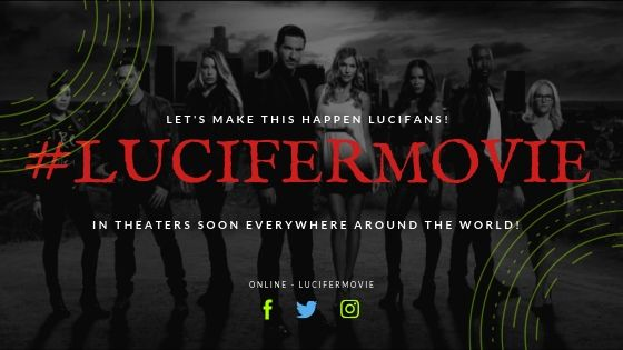 Lucifer THE MOVIE Facebook Page Gains Over 1K Backers In FIRST DAY