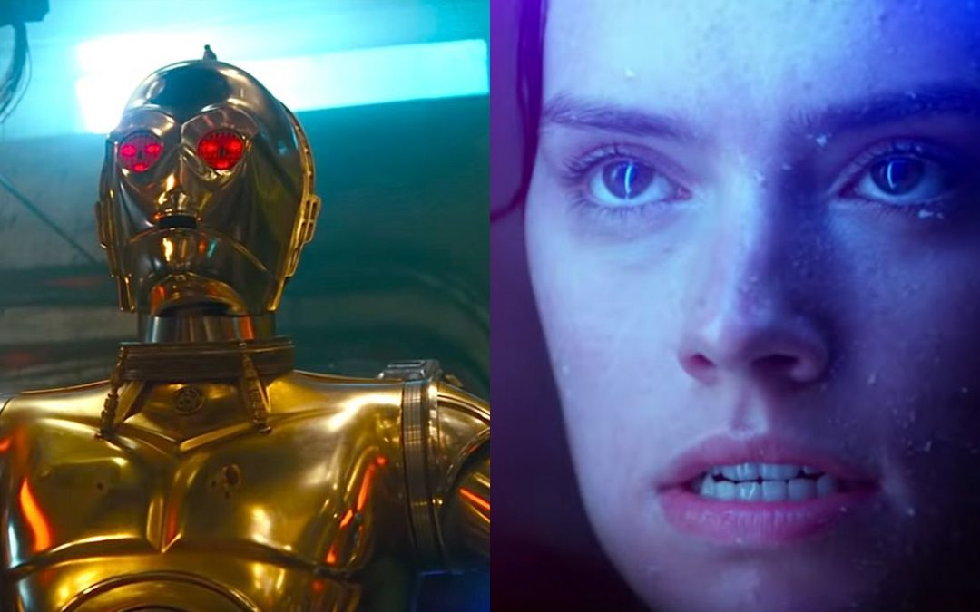The End Is Near – STAR WARS Final Episode – WATCH Trailer – What's Up With Rey & C3PO?