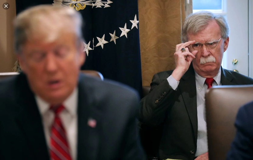 Trump Says He Fired National Security Adviser – Bolton Claims He Resigned Last Night