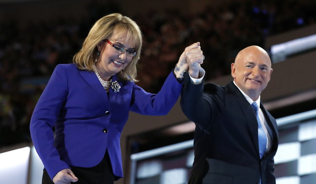 "AZ GOP Says It Will Stop Mark Kelly ""Dead In His Tracks"" – Wife Gabby Survived Assassination Attempt"