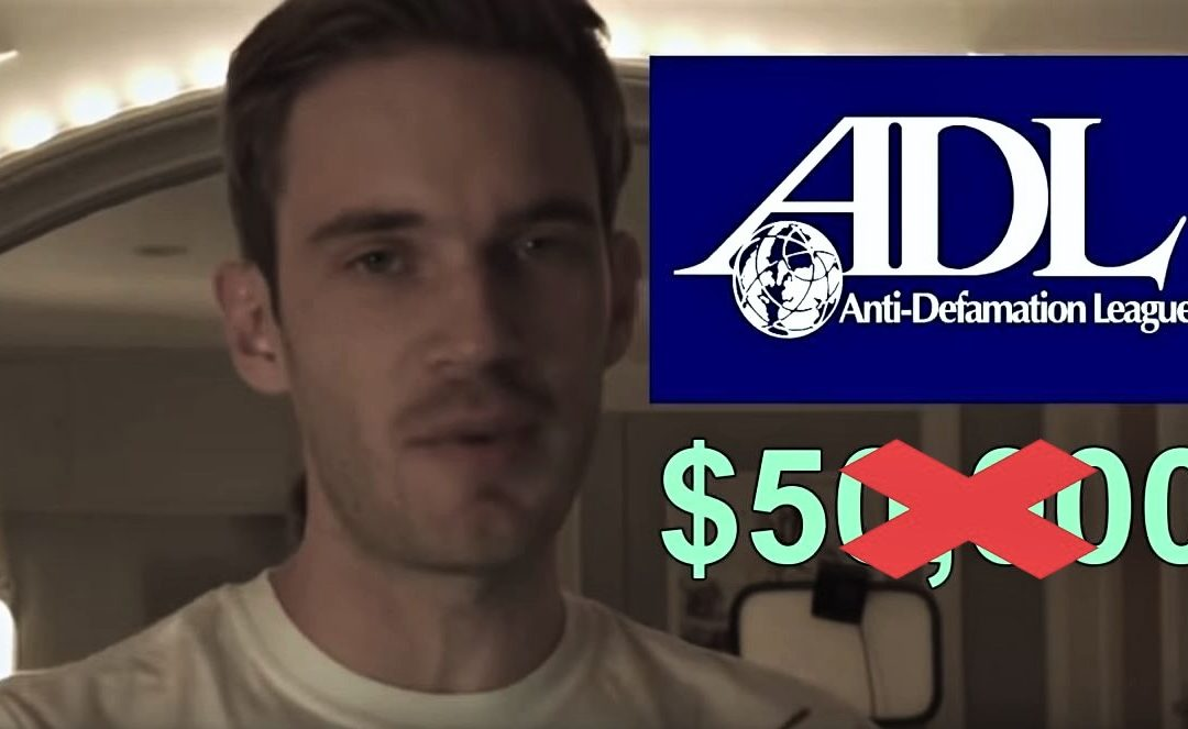 PewDiePie TAKES BACK $50K Donation To Jewish Anti-Hate Group – Alt-Right Claims Victory