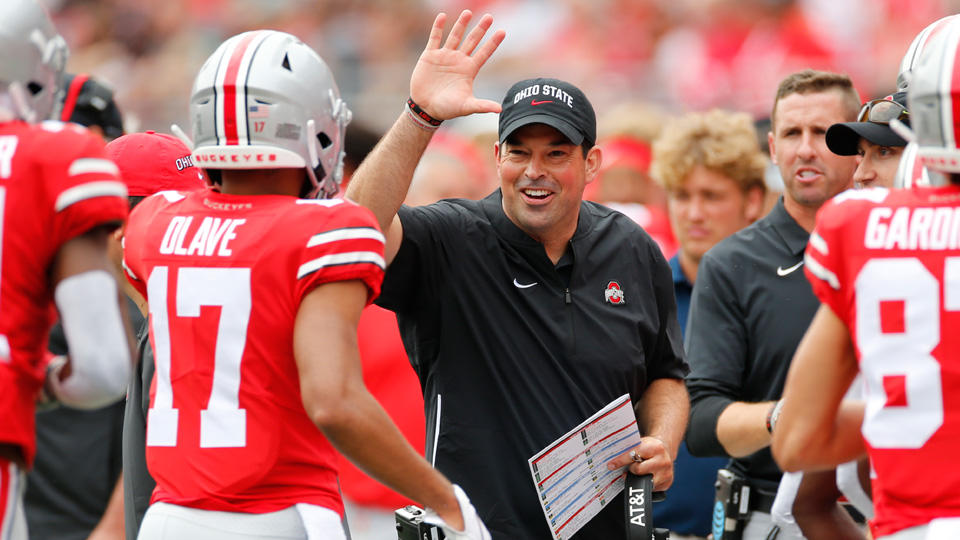 "Ohio State #5 In New AP Poll – Urban Meyer Says ""The Buckeyes Look Really Good"""
