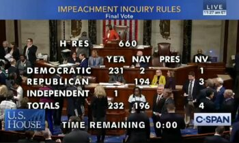 House Votes To Make IMPEACHMENT Inquiry Official – Trump & Ukraine Take Center Stage