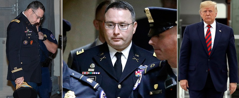 """Lt. Col. Testifies: """"THERE IS NO DOUBT"""" Trump Engaged In Quid Pro Quo With Ukraine"""