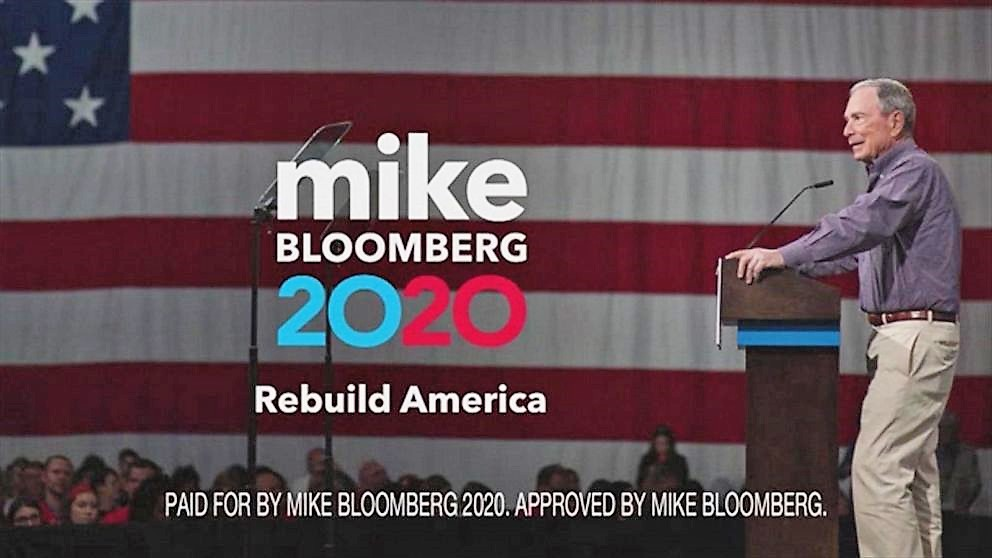 Bloomberg's $3,000-A-Minute Ad Campaign Is Inundating Super Tuesday States