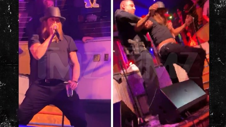 Kid Rock REMOVED From Stage After VILE Rant Against Oprah Winfrey