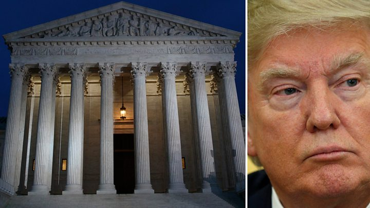 Supreme Court Puts Temporary SHIELD On Trump's Tax Returns