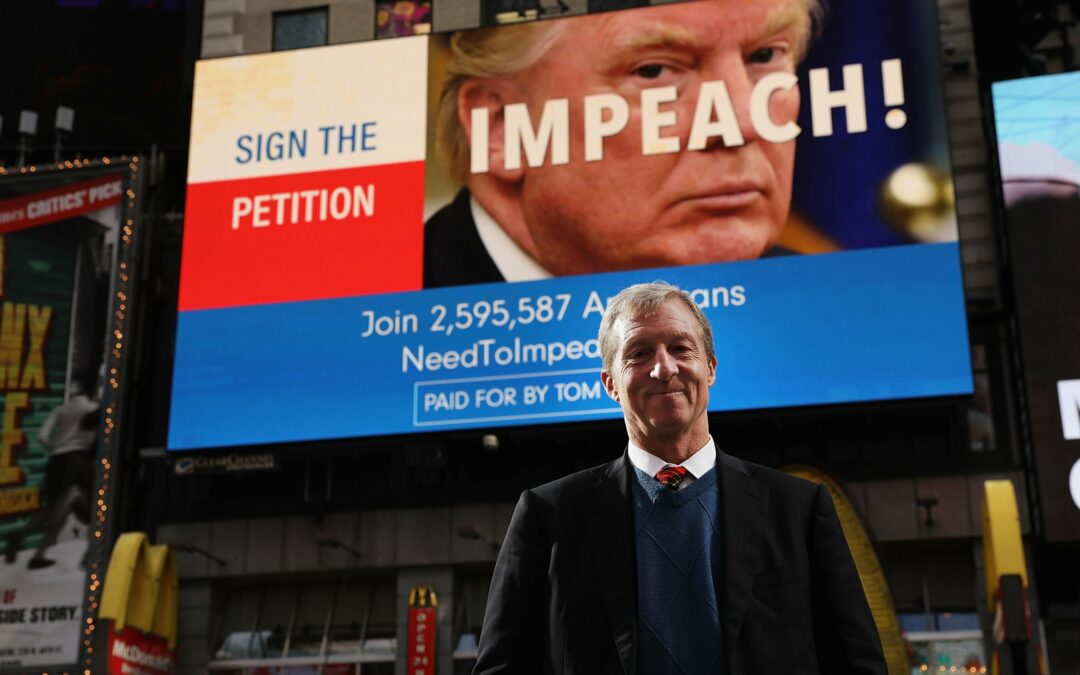 "Steyer Scoops Trump Campaign & Purchases ""Keep America Great"" Domain"